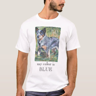 australian cattle dog blue heeler t shirt