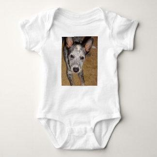 Australian_Cattle_Dog_blue puppy Baby Bodysuit
