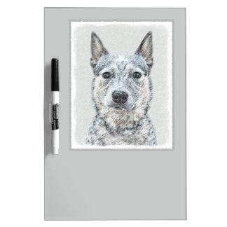 Australian Cattle Dog Dry Erase Board