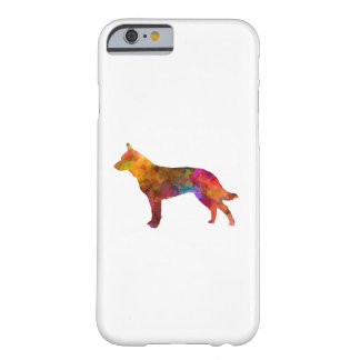 Australian Cattle Dog in watercolor Barely There iPhone 6 Case