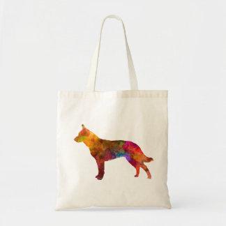 Australian Cattle Dog in watercolor Tote Bag