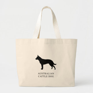 Australian Cattle Dog Large Tote Bag