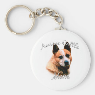 Australian Cattle Dog Mom 2 Keychain