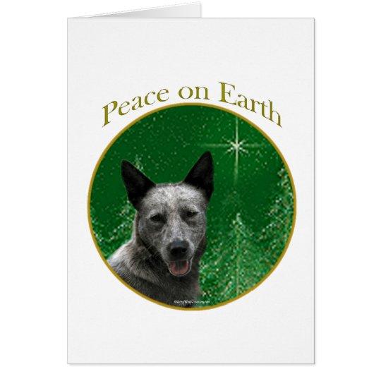 Australian Cattle Dog Peace Card