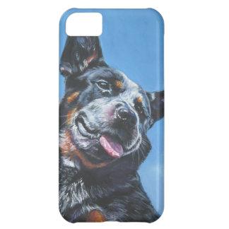 Australian Cattle Dog  portrait iphone blue heeler Cover For iPhone 5C