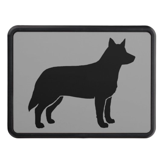 Australian Cattle Dog Silhouette Tow Hitch Covers