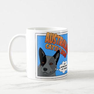 Australian Cattle Dog Super Hero Coffee Mug