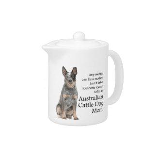 Australian Cattle Dog Teapot