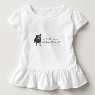 australian cattle dog toddler t-shirt