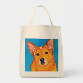 "Australian Cattle Dog Tote Bag - ""Red"""