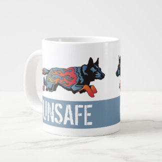 Australian Cattle Dog - Unsafe at any Speed Giant Coffee Mug