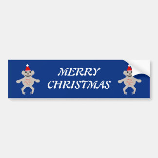 Australian Christmas Koala Bear Custom Car Sticker Bumper Sticker