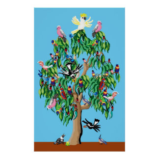 Australian Christmas tree Poster