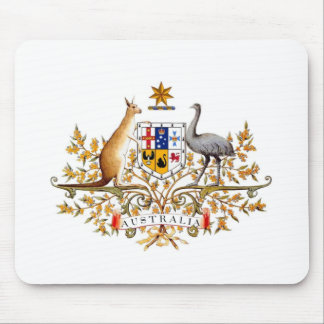 Australian - Coat of arms Mouse Pad
