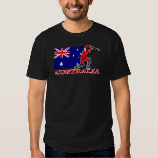 Australian Cricket Player T-shirt