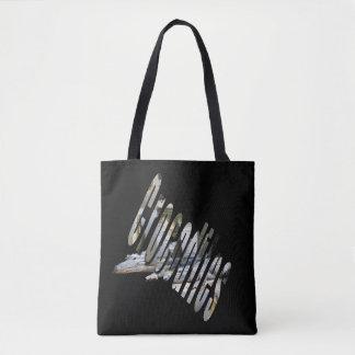 Australian Crocodile And Crocodile Logo, Tote Bag