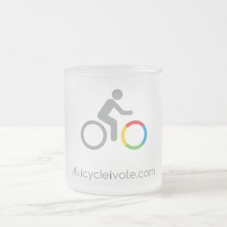 Australian Cyclists Party Frosted Mug
