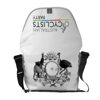 Australian Cyclists Party Messenger Bag