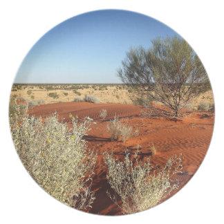 Australian desert photo plate