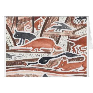 Australian Dreams Mythical Animals Snake Card 2c