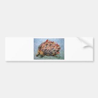 Australian echidna bumper sticker