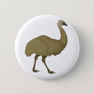 Australian Emu Bird 2 Inch Round Button