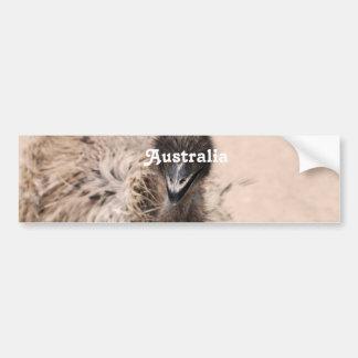 Australian Emu Bumper Stickers