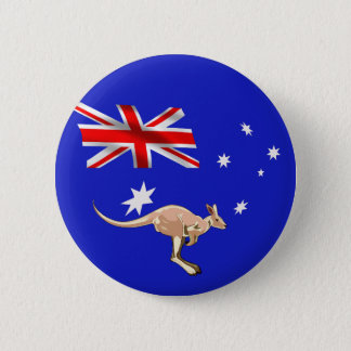 Australian flag 2 inch round button