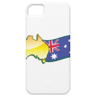 Australian flag and map aussie iPhone 5 cases