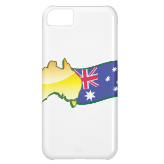Australian flag and map aussie iPhone 5C case