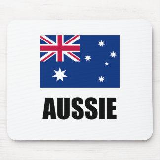 """Australian Flag / """"Aussie"""" Mouse Pad"""