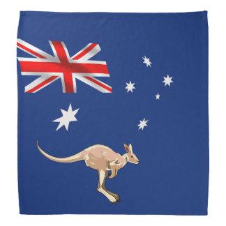 Australian flag bandana