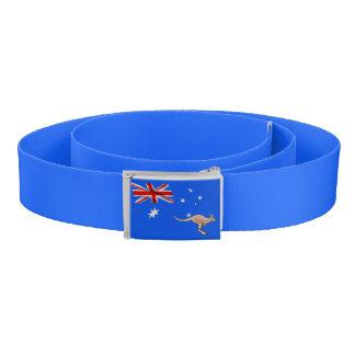 Australian flag belt
