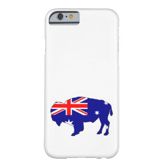 Australian Flag - Bison Barely There iPhone 6 Case