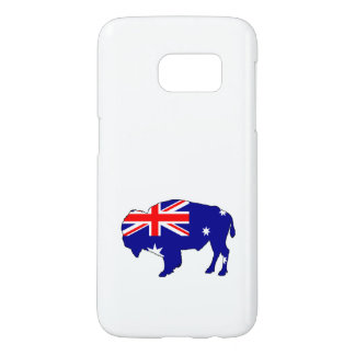 Australian Flag - Bison Samsung Galaxy S7 Case