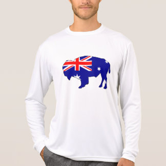 Australian Flag - Bison T-Shirt