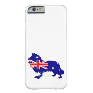 Australian Flag - Border Collie Barely There iPhone 6 Case
