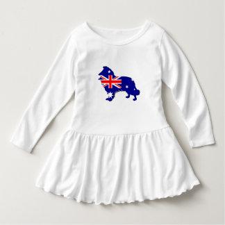 Australian Flag - Border Collie Dress