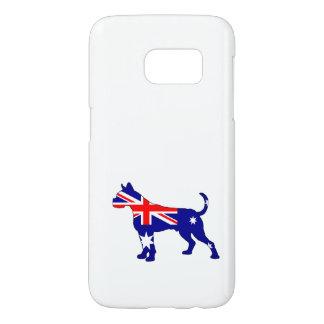 Australian Flag - Boxer Samsung Galaxy S7 Case
