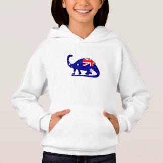Australian Flag - Brontosaurus