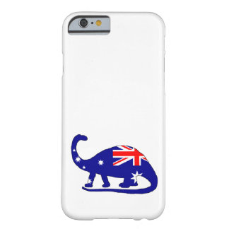 Australian Flag - Brontosaurus Barely There iPhone 6 Case