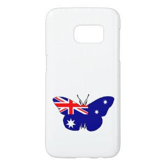 Australian Flag - Butterfly Samsung Galaxy S7 Case