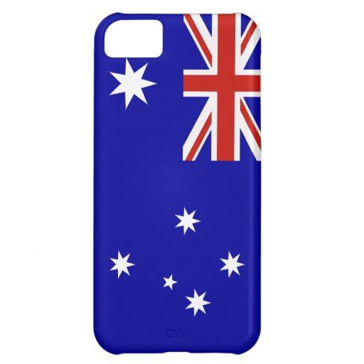 Australian flag cover for iPhone 5C