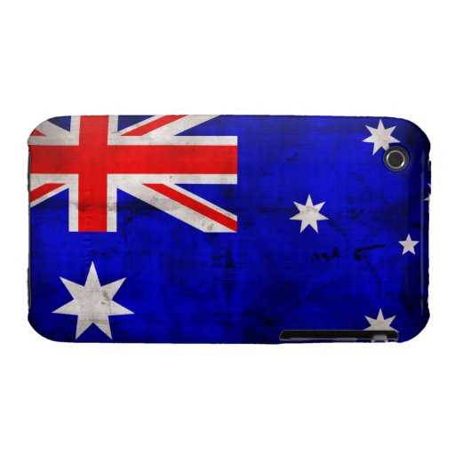 Australian Flag iPhone 3 Cases