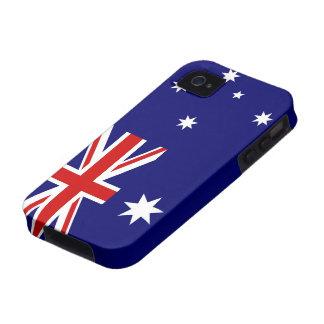 Australian Flag Vibe iPhone 4 Cases