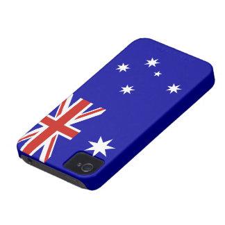 Australian flag Case-Mate iPhone 4 cases