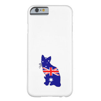 Australian Flag - Cat Barely There iPhone 6 Case
