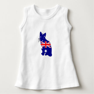 Australian Flag - Cat Dress