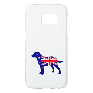 Australian Flag - Chesapeake Bay Retriever Samsung Galaxy S7 Case