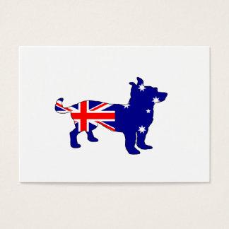 Australian Flag - Chihuahua Business Card